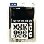 Milan 150912KBL–Calculatrice à 12chiffres, grandes touches, noir et blanc de la marque Milan image 1 produit