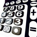 Milan 150912KBL–Calculatrice à 12chiffres, grandes touches, noir et blanc de la marque Milan image 4 produit