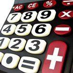 Milan 151708BL Blister Calculatrice Electronique 8 chiffres Touches grands de la marque Milan image 3 produit
