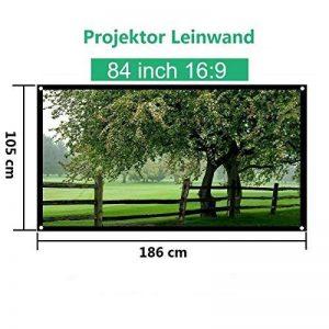 Mileagea Écran de Projection 84 Pouches 185x104cm seulement 1,4kg pour HD / 3D Film de la marque Mileagea image 0 produit