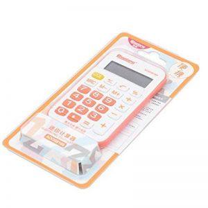 Mini calculatrice avec des calculatrices simples et charmantes de conception simple de la marque Black Temptation image 0 produit