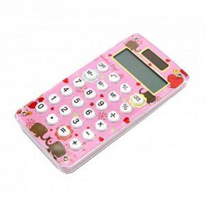 Mini calculatrice de poche d'énergie solaire de carte de crédit mince avec le grand affichage de 8 chiffres, F de la marque Black Temptation image 0 produit