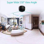 Mini Caméra Espion WiFi Ansteker Cam Cachée sans Fil HD 1080P Vision Nocturne avec Détection de Mouvement Caméra de Surveillance de Sécurité, Enregistreur Vidéo avec Mobile Live View pour iPhone/ Android/ iPad de la marque Ansteker image 4 produit