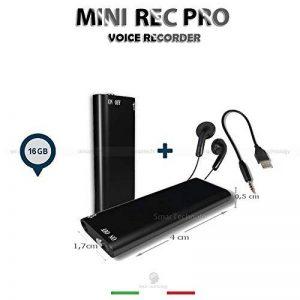 Mini-enregistreur espion, dictaphone, 16Go, lecteur MP3, clé USB de la marque Smartechnology image 0 produit