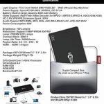Mini Projecteur, Android 7.1 Videoprojecteur Pico Projecteur Portable Sans Fil Partage d'écran pour iPhone Airplay Android Smartphone Miroir, Wifi Max HD 1080P DLP 4200mAh Batterie Rechargeble Bluetooth 4.0 Quad-Core HDMI/TF/USB de la marque TOUMEI image 4 produit