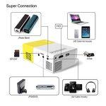 Mini Projecteur, Artlii LED Portable Projecteur avec USB-SD-AV-HDMI pour Loisirs ( Maison Film Théâtre,Vidéo,Camping,Jeu ) de la marque Artlii image 3 produit