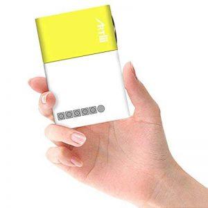 Mini Projecteur, Artlii LED Portable Projecteur avec USB-SD-AV-HDMI pour Loisirs ( Maison Film Théâtre,Vidéo,Camping,Jeu ) de la marque image 0 produit