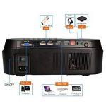"""Mini Projecteur Portable, Beatie VS626 3D Vidéoprojecteur LED 5.8"""" LCD 1080P Full hd 3500 lumens AV HDMI USB VGA LCD,Projecteur de Cinéma Maison de la marque Beatie image 3 produit"""
