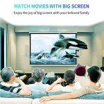 """Mini Projecteur Portable, Beatie VS67 Vidéoprojecteur LED 4""""LCD 1080P Full hd 1800 lumens HDMI USB VGA LCD,Projecteur de Cinéma Maison de la marque Beatie image 3 produit"""
