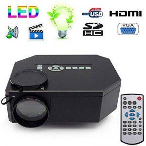 Mini projecteur Portable Full HD 1080p Home cinéma TV Films Jeux vidéo de la marque YONIS image 0 produit