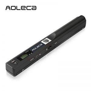 Mini Scanner de Poche Aoleca 900 DPI Resolution Portable sans Fil Sélection de Format JPG/PDF (USB 2.0 Haute Vitesse, Carte Micro SD 8G et Logiciel OCR inclus) de la marque VEAMA image 0 produit