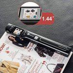 Mini Scanner Portable TaoTronics Document Scanner 1050 DPI avec Écran 1.44'TFT Couleur ou Mono (Format JPG/PDF, Carte Micro SD Requise mais Non Incluse, Non Compatible avec Mac et Windows 10) de la marque TaoTronics image 1 produit