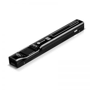 Mini Scanner Portable TaoTronics Document Scanner 1050 DPI avec Écran 1.44'TFT Couleur ou Mono (Format JPG/PDF, Carte Micro SD Requise mais Non Incluse, Non Compatible avec Mac et Windows 10) de la marque TaoTronics image 0 produit