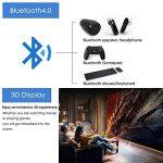 Mini Smart Android DLP Projecteur 3d, HD Wireless LED Projecteur de poche pico WXGA 1280 x 800, Full HD 1080p Projecteur de presentacion de affaires de Home cinéma portable avec batterie HDMI SD/TF US (Fiche britannique, manuel en anglais) de la marque EU image 3 produit
