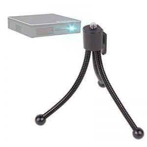 Mini trépied /pied compact à pieds flexibles DURAGADGET pour vidéoprojecteur Crenova XPE 700 DLP Pico Projecteur + clip d'attache de la marque Duragadget image 0 produit
