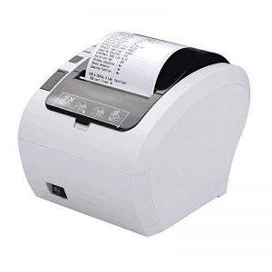[Mise à Niveau 2.0] 80 mm Imprimante Thermique Directe avec USB Ethernet pour Windows PC/ESC/POS-Blanc de la marque MUNBYN image 0 produit