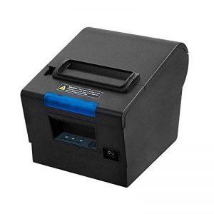[Mise à niveau 2.0] 80 mm Imprimante Thermique USB / Ethernet / LAN ESC / POS Jeu d'instructions d'impression Compatible - MUNBYN Imprimantes à Reçu de Point de Vente (Thermique, POS printer, 300 mm/sec,USB,Cutter lifespan:10 million times ) de la marque image 0 produit