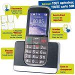 Mobiho Essentiel Le Classic Elegant 2-3G - Téléphone Portable Senior, Compatible à Quelqu'un Qui Veut Un Appareil Complet à Grosse Touche - DEBLOQUE Tout OPERATEUR. de la marque Mobiho-Essentiel image 1 produit