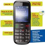 Mobiho Essentiel Le Classic Elegant 2-3G - Téléphone Portable Senior, Compatible à Quelqu'un Qui Veut Un Appareil Complet à Grosse Touche - DEBLOQUE Tout OPERATEUR. de la marque Mobiho-Essentiel image 2 produit