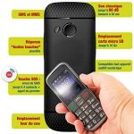 Mobiho Essentiel Le Classic Elegant 2-3G - Téléphone Portable Senior, Compatible à Quelqu'un Qui Veut Un Appareil Complet à Grosse Touche - DEBLOQUE Tout OPERATEUR. de la marque Mobiho-Essentiel image 3 produit
