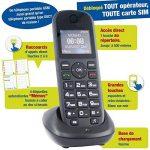Mobiho-Essentiel le CLASSIC MEGA - Portable pour personne agée. Idéal pour un utilisateur qui veut un téléphone de plus grande taille pour téléphoner. Pour une personne ayant un problème de préhension. Il plaira à ceux qui veulent vraiment la SIMPLICITE. image 1 produit