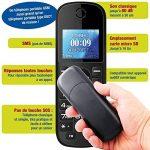 Mobiho-Essentiel le CLASSIC MEGA - Portable pour personne agée. Idéal pour un utilisateur qui veut un téléphone de plus grande taille pour téléphoner. Pour une personne ayant un problème de préhension. Il plaira à ceux qui veulent vraiment la SIMPLICITE. image 3 produit