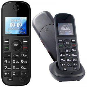 Mobiho-Essentiel le CLASSIC MEGA - Portable pour personne agée. Idéal pour un utilisateur qui veut un téléphone de plus grande taille pour téléphoner. Pour une personne ayant un problème de préhension. Il plaira à ceux qui veulent vraiment la SIMPLICITE. image 0 produit