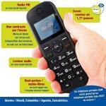Mobiho-Essentiel le CLASSIC MEGA - Portable pour personne agée. Idéal pour un utilisateur qui veut un téléphone de plus grande taille pour téléphoner. Pour une personne ayant un problème de préhension. Il plaira à ceux qui veulent vraiment la SIMPLICITE. image 2 produit