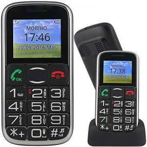 Mobiho-Essentiel le CLASSIC STYLE - Mobile pour senior. Un son fort : conviendra à des utilisateurs commençant à avoir des problèmes auditifs mais pas à des utilisateur très déficients. de la marque Mobiho-Essentiel image 0 produit