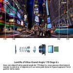 Modohe WiFi Caméra de Voiture Full HD 1080P Grand Angle de 170° Caméra Embarquée, Enregistrement En Boucle, Détection de Mouvement, Dashcam Voiture Avec Objectif Réglable Écran 2.45 Pouces LCD de la marque Modohe image 2 produit