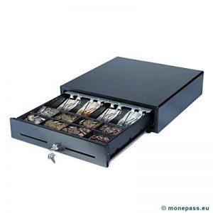 MONEPASS Tiroir caisse équipé CD150e Low Duty Noir Connexion RJ12 de la marque Monepass image 0 produit