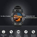 Montre Connectée, Bluetooth Smartwatch Montre Sport Carte Sim de Soutien et Carte de TF Caméra avec Podomètre,Sommeil, Calories pour Samsung Sony Huawei Android pour Femme Homme Enfant Noir de la marque Topffy image 1 produit