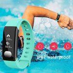 Montre de Running Smart Fitness Bracelets d'activité podomètre Bracelet Montre Connectée, Podomètre, Smart Bracelet, Fitness tracker, Tracker d'Activité Contrôle de la Camera à distance/Calendrier/Chronomètre/Calculatrice de la marque manmanline image 2 produit