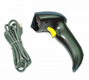 MP power @ Noir USB Code à Barre Scanneur Lecteur Barcode scanner Laser POS EAN-13 de la marque Mondpalast image 0 produit