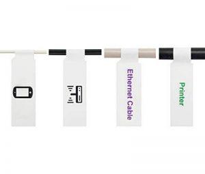 Mr-Label A4 auto-adhésif Étiquette de câble - avec l'outil d'impression en ligne gratuit - pour impression jet d'encre (10 Feuilles, 300 Étiquettes, Blanc) de la marque Mr-Label image 0 produit