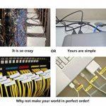 Mr-Label Auto-adhésif autocollant Étiquette de câble - étanche | Résistant à la déchirure | Durable - avec en ligne gratuit outil d'impression de la marque Mr-Label image 2 produit