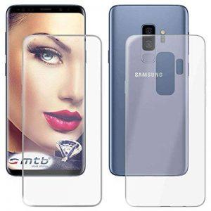 mtb more energy Coque TPU Double (Recto/Verso) pour Samsung Galaxy S9 Plus (SM-G965, 6.2'') | Protection de 360 Degrés | TPU Gel Housse Poche étui de Protection de la marque mtb more energy image 0 produit