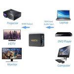 Musou VGA vers HDMI + audio de 3,5 mm Adaptateur Convertisseur | convertisseur pleine HD 1080p de l'analogique au projecteur de TV numérique HDTV Converter de la marque Musou image 4 produit