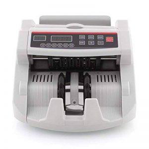 MVpower Compteuse de Billets Compteur d'Argent Détecteur de Faux Billets Contrôle UV/IR Magnétique Rapide Euro/Dollar de la marque MVPower image 0 produit