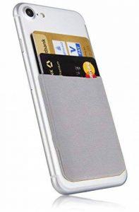 MyGadget Porte Cartes pour Smartphone - Anti signaux RFID - Pochette adhésive élastique - Wallet Universel pour Papiers & Fourre Tout - Etui Argent de la marque MyGadget image 0 produit