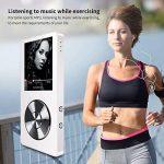 Mymahdi 8 Go MP3 Portable (extensible jusqu'à 128 Go),de musique/une touche de Enregistreur vocal/radio FM 70 heures de avec haut-parleur externe HD,Blanc de la marque MYMAHDI image 3 produit