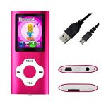 Mymahdi – Digital, Compact et Portable Lecteur MP3/MP4 (Max Support 64 Go Carte Micro SD) avec Photo Viewer, E-Book Reader et Radio FM Enregistreur Vocal et Vidéo Vidéo en Rose … de la marque MYMAHDI image 4 produit
