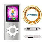 Mymahdi – Digital, compact et portable Lecteur MP3/MP4 (max support 64 Go carte micro SD) avec photo Viewer, E-Book Reader et radio FM Enregistreur vocal et vidéo vidéo en argent de la marque MYMAHDI image 3 produit