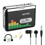 MYPIN Lecteur de cassettes audio portable Lecteur de cassettes audio à MP3 et enregistreur à cassette avec écouteurs Aucun ordinateur requis de la marque MYPIN image 1 produit