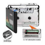 MYPIN Lecteur de cassettes audio portable Lecteur de cassettes audio à MP3 et enregistreur à cassette avec écouteurs Aucun ordinateur requis de la marque MYPIN image 2 produit