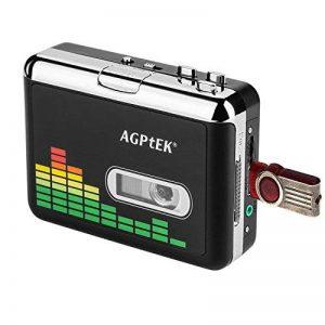 MYPIN Lecteur de cassettes audio portable Lecteur de cassettes audio à MP3 et enregistreur à cassette avec écouteurs Aucun ordinateur requis de la marque MYPIN image 0 produit