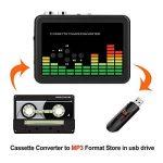 MYPIN Lecteur de cassettes audio portable Lecteur de cassettes audio à MP3 et enregistreur à cassette avec écouteurs Aucun ordinateur requis de la marque MYPIN image 3 produit