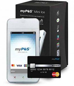 myPOS TPE Lecteur de Cartes bancaires Ice Wi-FI Bluetooth SIM de la marque myPOS image 0 produit
