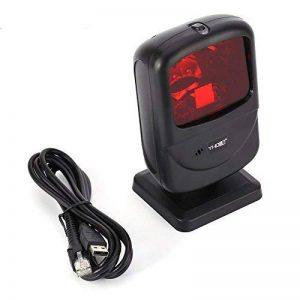 Nadamoo 1d Destop Omni-Directional Barcode Scanner laser lecteur de codes barres Main levée du code à barres scanner de prix avec câble USB de la marque NADAMOO image 0 produit