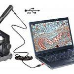 National Geographic 40x-1024x Microscope, valise et oculaire USB compris de la marque National Geographic image 4 produit